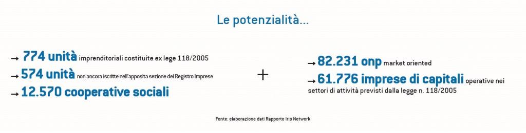 elaborazione dati su Rapporto Iris Network